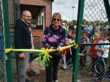 Sue Baxter - Open Day for Court 3:- 2018
